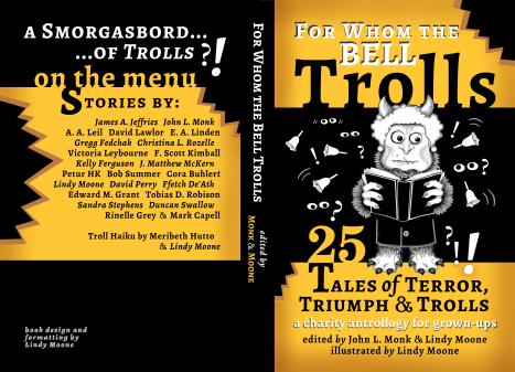 troll Createspace cover newbellyup